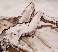 Thuy resting by Johnathan Felton