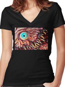 wrinklebeast 2 Women's Fitted V-Neck T-Shirt