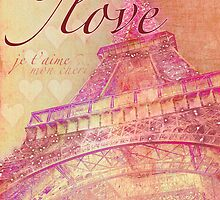 Love Paris Card by creativemonsoon