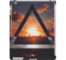 Triangle Sunset iPad Case/Skin
