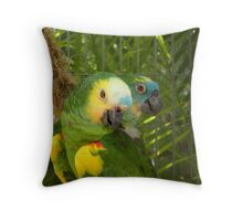 Feathered Friends Throw Pillow
