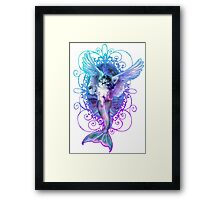 MermaidCaterCorn Framed Print