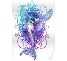 MermaidCaterCorn Poster
