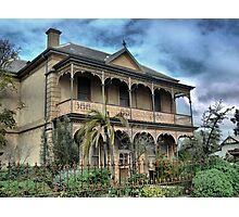 """On The Calder - Tivey's House """"Nimmitabel"""" Photographic Print"""