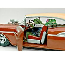 Cruising Froggies Photographic Print