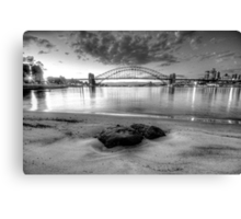 Exposed ( In Monochrome) - Moods Of A City - The HDR Experience Canvas Print
