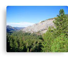 California Sierra Nevada Landscape Canvas Print