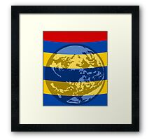 Stripes from the squeal  Framed Print