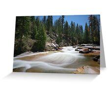 Illilouette Creek Greeting Card