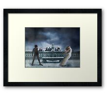 A Story Of Betrayal Framed Print