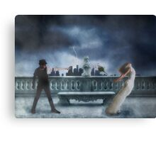 A Story Of Betrayal Canvas Print
