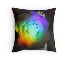 Tinted Rose  Throw Pillow