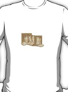 Celtic Cowboy Boots T-Shirt