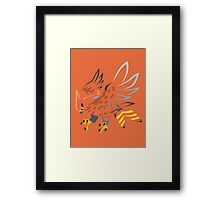 Talonflame (Tribal) Framed Print