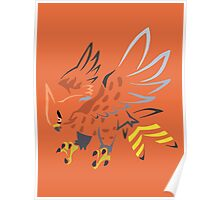 Talonflame (Tribal) Poster