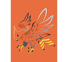 Talonflame (Tribal) Photographic Print