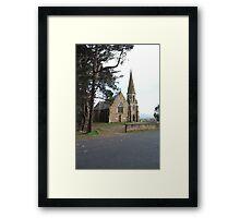 Ross Uniting Church Tasmania 1885 Framed Print
