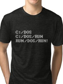 Run, Dos, Run! Tri-blend T-Shirt