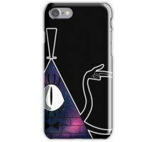 Space Triangle Bill Cipher - Galaxy iPhone Case/Skin