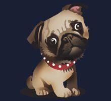 Pug pup Kids Tee