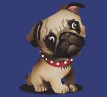 Pug pup by Matt Mawson