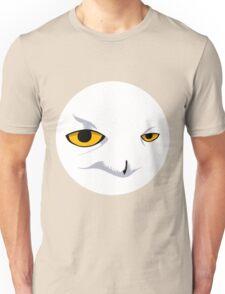 Snowy Owl Circle Unisex T-Shirt