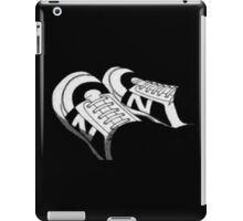 Initial Trainers  -  Awesome transparency design iPad Case/Skin
