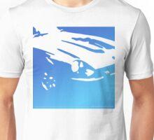 Datsun 240Z Detail - Blue on white Unisex T-Shirt