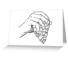 In touch with nature Greeting Card