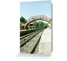 Goathland Station - North Yorkshire Greeting Card
