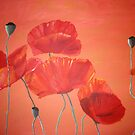 """""""Poppies"""" 2009 by Anna"""