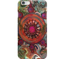 Dharma Wheel 2 iPhone Case/Skin