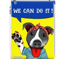 Lu the Riveter! iPad Case/Skin
