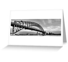 The Bridge - A Study in Black and White #3- The HDR Experience Greeting Card