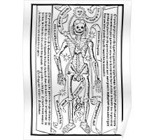 Zodiac Calendar....circa 1495! Poster