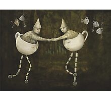 Teacup Greetings Photographic Print