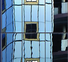 Reflections in Perth 2 - windows in windows by nadine henley