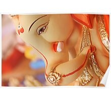 Moods of Lord Ganesh & India Poster