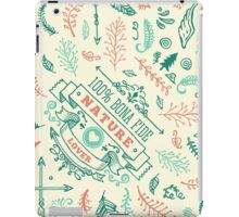 Doodlelicious - Nature iPad Case/Skin