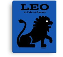 Signs of the Zodiac:   LEO Canvas Print