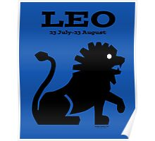 Signs of the Zodiac:   LEO Poster