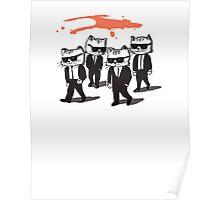 Reservoir cats Poster
