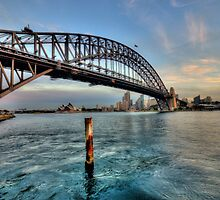 Point To Point - Sydney Harbour Bridge - The HDR Experience by Philip Johnson