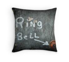 Ring Bell Throw Pillow