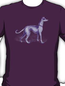 That One Purple Dog Shirt (Wordless) T-Shirt