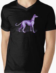 That One Purple Dog Shirt (Wordless) Mens V-Neck T-Shirt