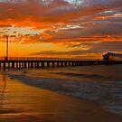 Queenscliff Pier Sunrise by Neil