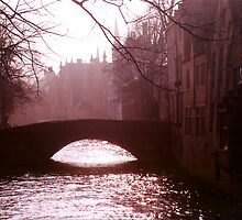Evening Stroll, Bruges by Careford-White
