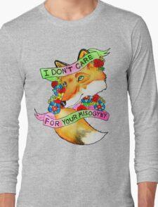 Feminist Fox v2 Long Sleeve T-Shirt