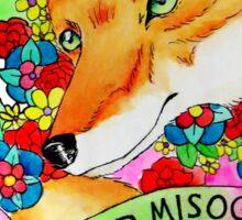 Feminist Fox v2 Sticker